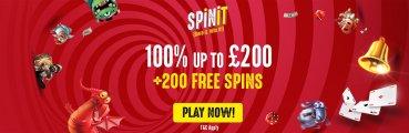 Spinit Casino UK player Bonus