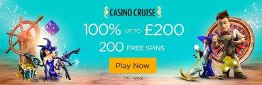 Casino Cruise UK player Bonus