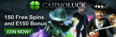 Casino Luck Welcome Bonus UK