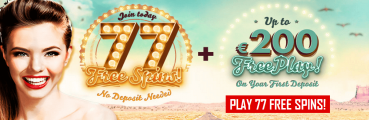 777 Casino 77 No Deposit Free Spins