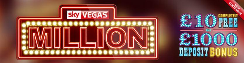 Free Sky Vegas Bonus