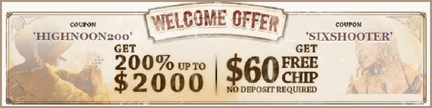 Free Bonus For new Players
