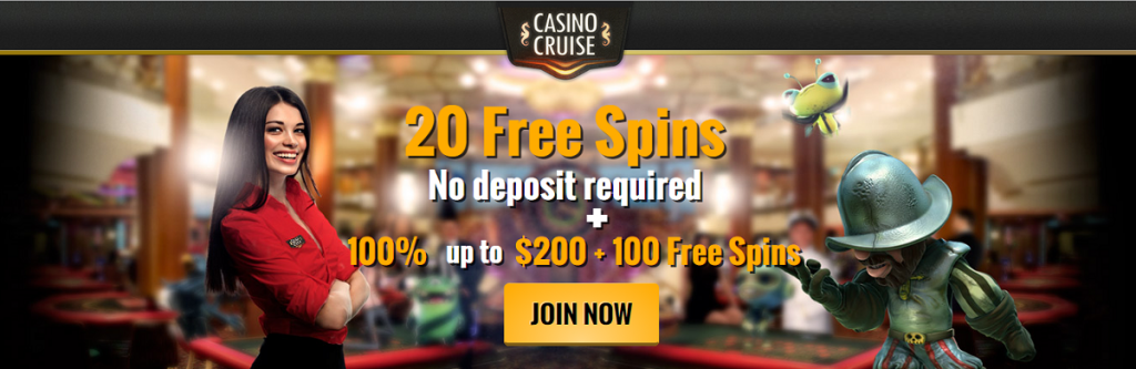 Casino cruise 55 free spins code