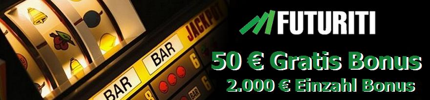 Futuriti Casino 50 € Gratis