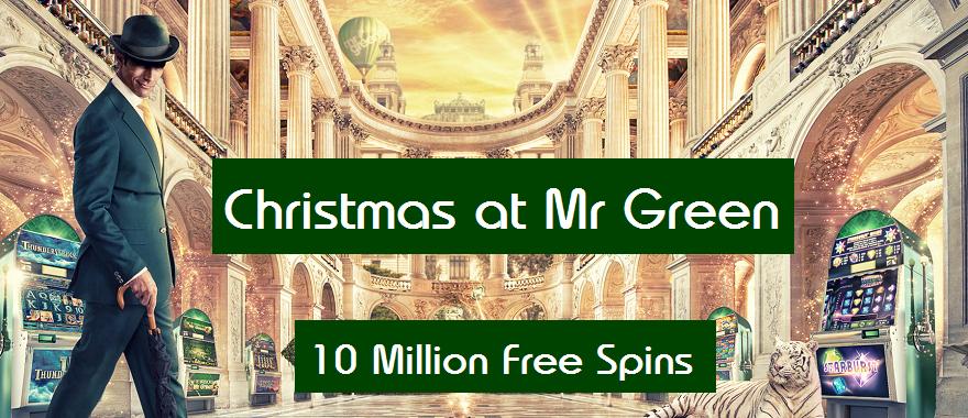 Mr Green Free Spins No Deposit