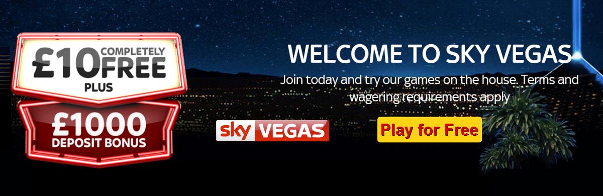 Sky Vegas No Deposit Bonus
