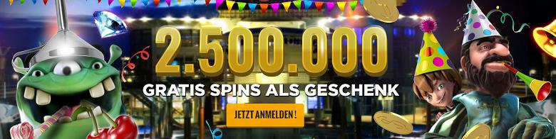 Gratis Online Casino Freispiele