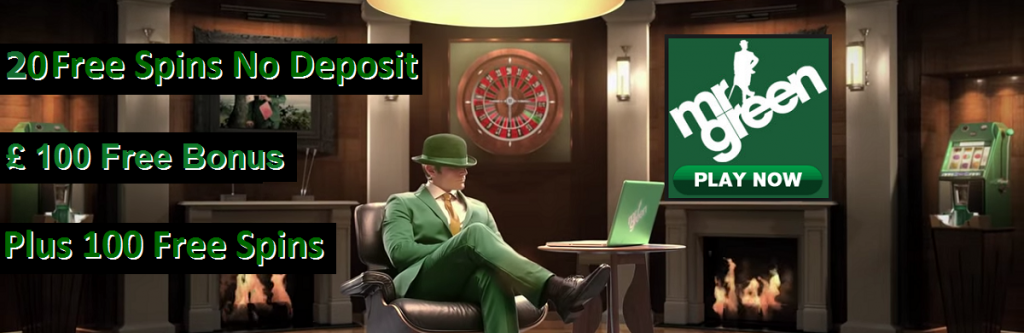 no deposit bonus codes for mr green casino