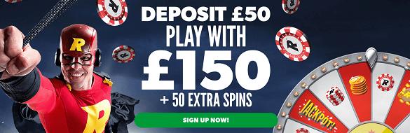 Rizk Casino UK Bonus