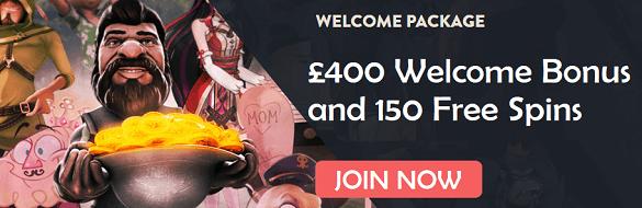 Rizk UK Online Casino Bonus