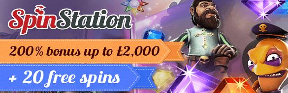 Spinstation UK Casino Bonus