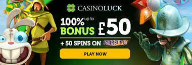 Casino Luck UK New Player Welcome Bonus