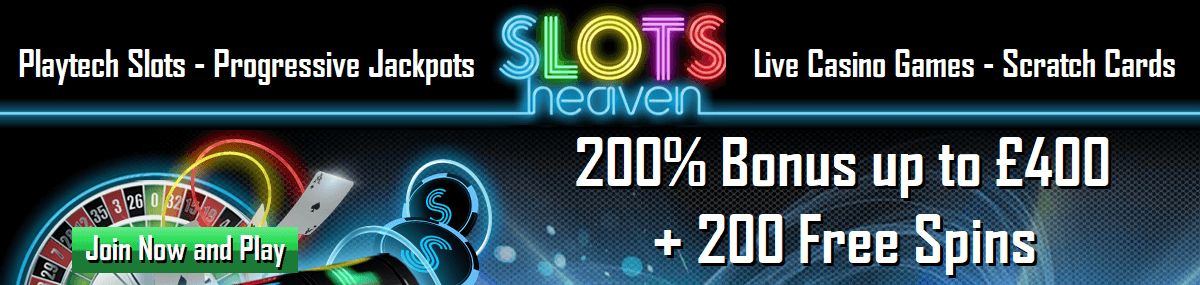 Slots Heaven UK Online Casino
