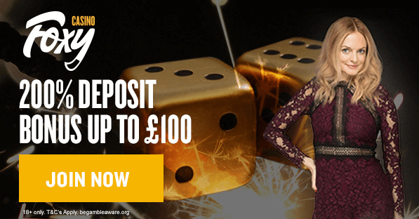 Foxy Casino UK Sign Up Bonus