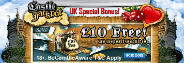 Castle Jackpot Free Bonus UK