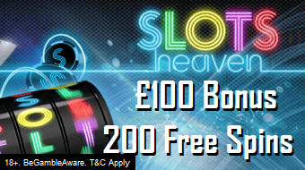 New Slots Heaven Online Casino Bonus UK