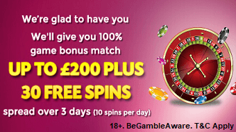 Spinsvilla Online Casino UK Bonus