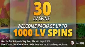 LVbet Casino Free Spins