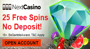 Next Casino Free Spins Bonus